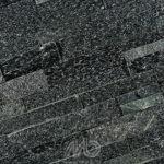 Plaquette black quartzite